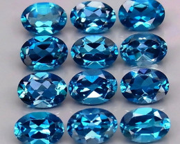 10.91 ct.100% Natural Earth Mined Top Quality Blue Topaz Brazil