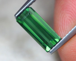 1.51ct Natural Green Tourmaline Octagon Cut Lot GW7687