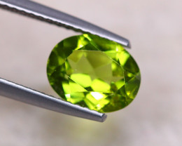 2.16ct Natural Green Peridot Oval Cut Lot GW7739