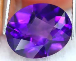 Uruguay Amethyst 2.72Ct VVS Master Cut Natural Violet Amethyst A1711