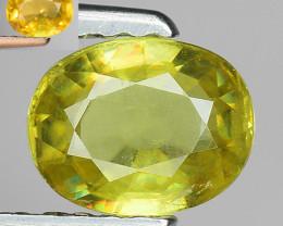 0.72 Ct Natural Sphene Color Change Sparkiling Luster Gemstone SF4
