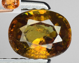 0.57 Ct Natural Sphene Color Change Sparkiling Luster Gemstone SF6