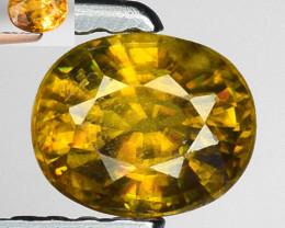 0.51 Ct Natural Sphene Color Change Sparkiling Luster Gemstone SF9