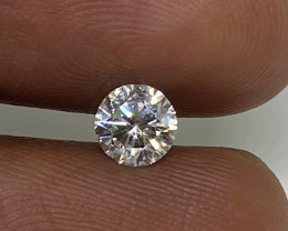 (5) Certified $903 Nat 0.54cts  SI2 White Round Loose Diamond Brilliant