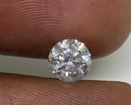 (C) Certified $2131 Fiery 0.84cts SI2 White Loose Diamond Round  Nat
