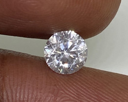 (D) Certified $2242 Fiery 0.70cts SI1 White Loose Diamond Round  Nat