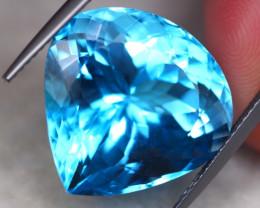 24.97Ct Natural Swiss Blue Topaz Pear Cut Lot B2020