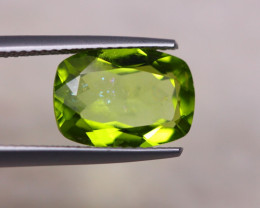 4.07Ct Natural Green Peridot Octagon Cut Lot A920