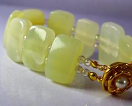 274 CT Natural - Unheated Onyx Carved Bracelets Shape