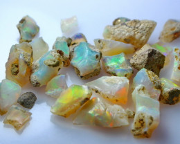 38.05 CT Natural - Unheated White Opal Rough lot