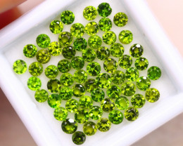 4.59ct Natural Chrome Diopside Round Cut Lot E49