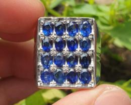 Natural HQ  Stamp  Royal Blue  Sapphire  Sri lanka Ceylon
