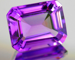 20x15 mm Octagon 18.13cts Purple Amethyst