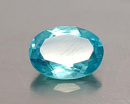 0.80CT NEON BLUE APATITE BEST QUALITY GEMSTONE IIGC41