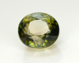 2.20 Cts NATURAL SPLENDID OVAL CHROME GREEN TOURMALINE