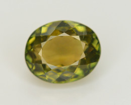 2.05 Cts NATURAL SPLENDID OVAL CHROME GREEN TOURMALINE