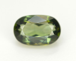 1.80 Cts NATURAL SPLENDID OVAL CHROME GREEN TOURMALINE