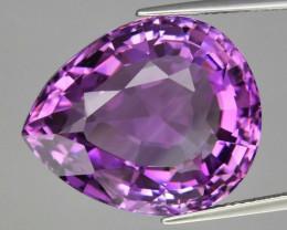 25.18 ct 100% Natural Earth Mined Unheated Purple Amethyst, Uruguay