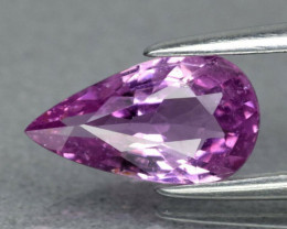 1.09 ct 9x5mm Pear Natural Unheated Untreated Pink Sapphire, Madagascar