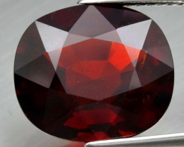 Big! 8.87 ct 100% Natural Earth Mined  Orangish Red Spessartite Garnet, Nam