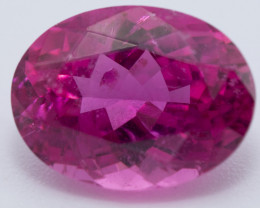 1.86 CTS, RUBELLITE, OVAL