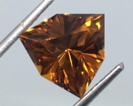2.49 Carat VVS Citrine Master Cut Trillion Mediera Color Exquisite !