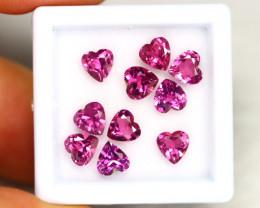 Purple Garnet 5.33Ct Calibrated Heart 5x5mm Natural Garnet  Lot C1905