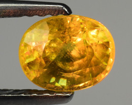 Mind Blowing Fire  0.99 Cts Chrome Sphene ~ AS1