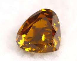 Brown Diamond 0.34Ct Natural Fancy Diamond A1901