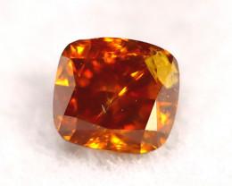 Brown Orange Diamond 0.17Ct Natural Fancy Diamond A1904