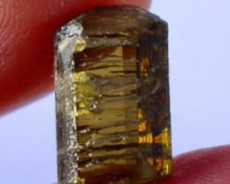8.70 CT Unheated ~ Natural Brown Epidot Crystal