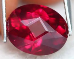 Rhodolite 3.38Ct VVS Master Cut Natural Rhodolite Garnet B1906