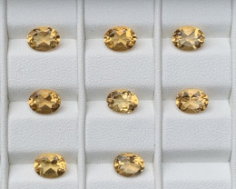 13.80 Carats Citrine  Gemstones Parcel