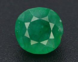 0.65 ct Natural Vivid Green Color Emerald~Swat