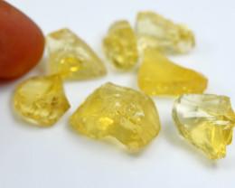 54.60 Cts Beautiful, Superb Yellow Opal Rough Lot