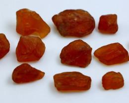 102.75 CT Natural & Unheated Orange Garnet Rough Lot