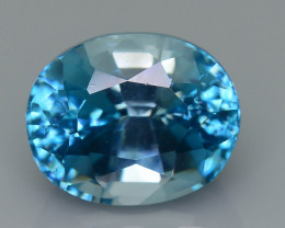 AAA Brilliance 6.07 ct Blue Zircon Cambodia SKU.11