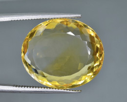14.47 Crt Natural Citrine  Faceted Gemstone.( AB 78)