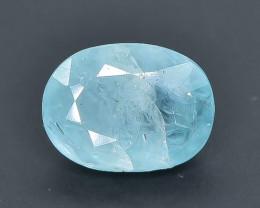 1.44 Crt Natural  Grandidierite Faceted Gemstone.( AB 78)