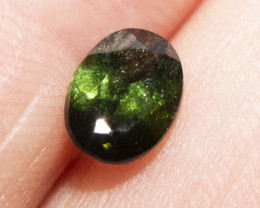 .87  CTS.  SAPPHIRE, GREEN