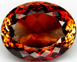 30.42 ct.100% Natural Earth Mined Top Quality  Topaz Orangey Brown Brazil