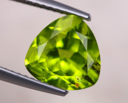 2.94Ct Natural Green Peridot Trillion Cut Lot B2045