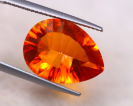 7.08Ct Natural Orange Topaz Pear Cut Lot B2047