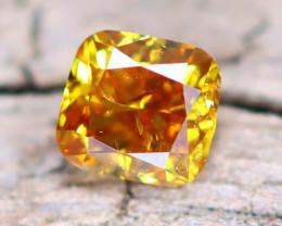 Yellow Orange Diamond 0.15Ct Natural Fancy Diamond A2009