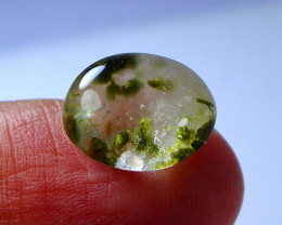 9.70 CT Unheated & Natural Green Quartz  Cabochon