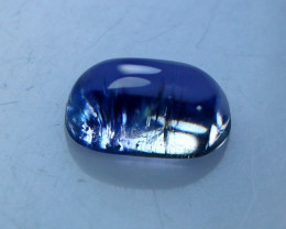 2.30 CT Natural & Unheated Blue Tanzanite Cabochon