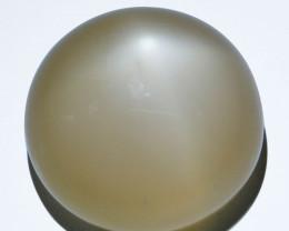 32.97Cts Natural Peach Moonstone Star Round Cabochon Kangayam India