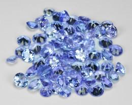 5.10 Cts 70 pcs Amazing Rare Violet Blue Color Natural Tanzanite Gemstones