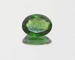 Green Tourmaline Faceted Oval 9x6.8mm.-(1.6ct).- SKU 207