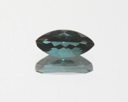 Blue Tourmaline Faceted Marquise 10x5mm.-(1.24ct).- SKU 207